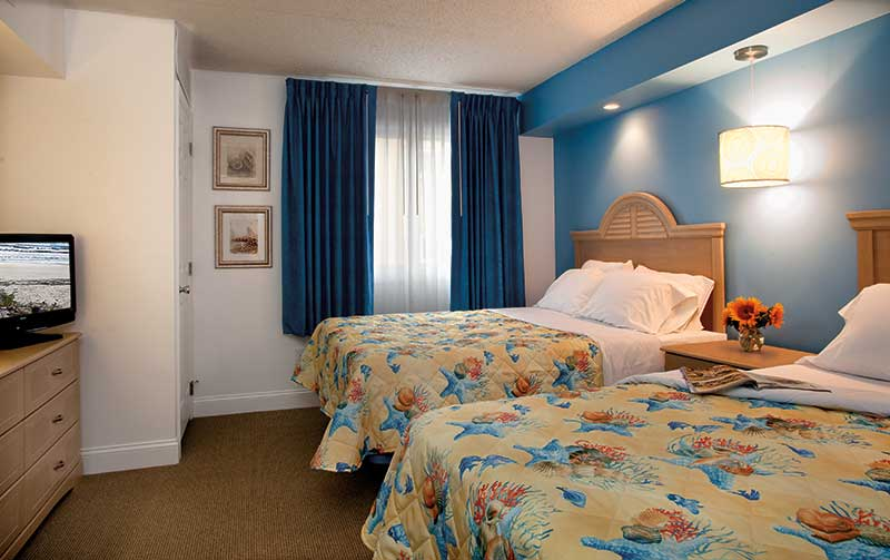 Concord Suites Bedroom accommodations