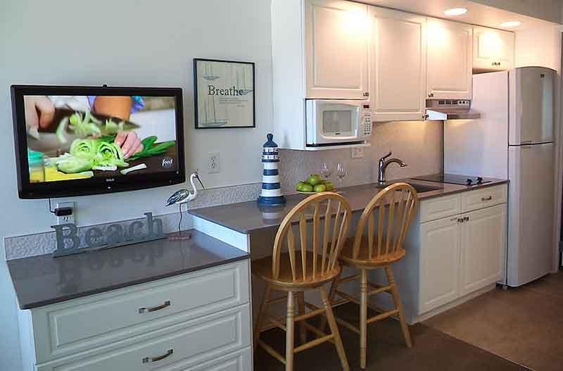 Concord Suites Kitchen Area